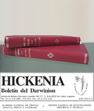 Hickenia y Anexos editoriales