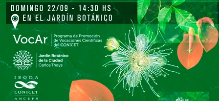 Semana de la Ciencia en el Jardin Botánico de la Ciudad de Buenos Aires